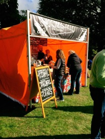 Vegan street food festival takeaway Yorkshire